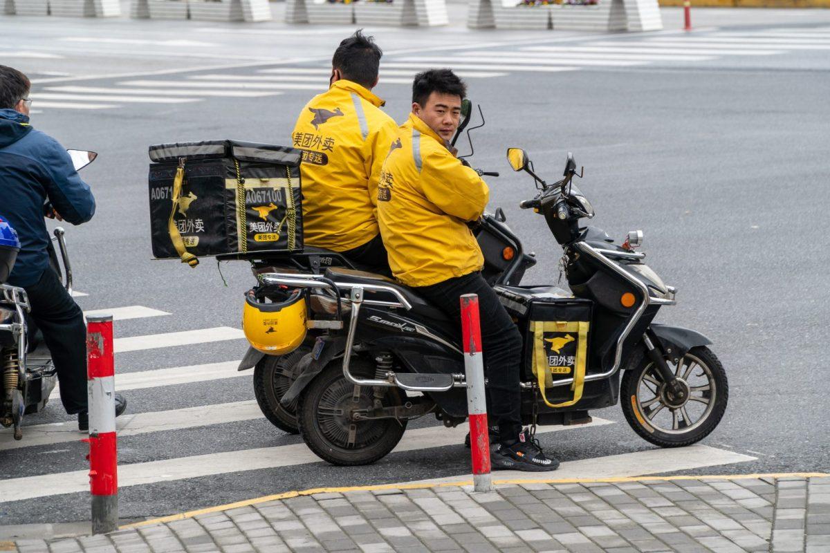 Meituan Dianping Alibaba O2O service Amazon