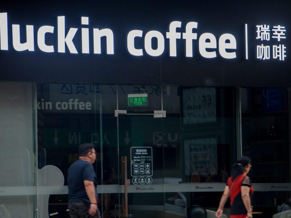 luckin coffee starbucks vending machine fraud