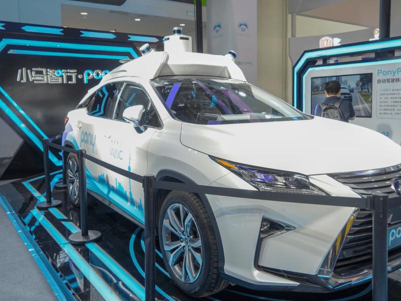 autonomous driving self-driving cars pony.ai weride waymo didi chuxing waic