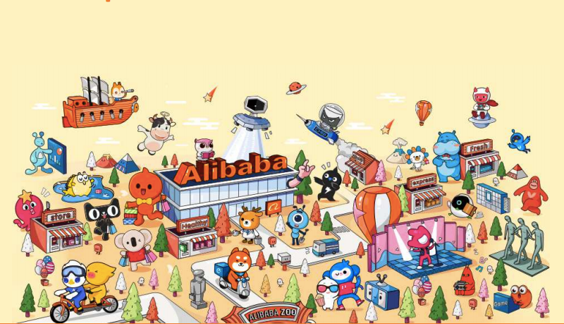 alibaba e-commerce taobao amazon new retail online shopping