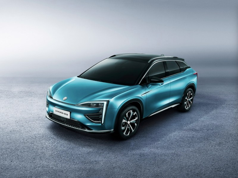 HYCAN's first battery electric sports utility vehicle model, boasting an NEDC range of 650 kilometers, closed first round of pre-sale in just three days, announced GAC-Nio on Oct. 25, 2019 (Image credit: HYCAN)