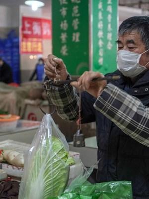 Coronavirus, market, groceries