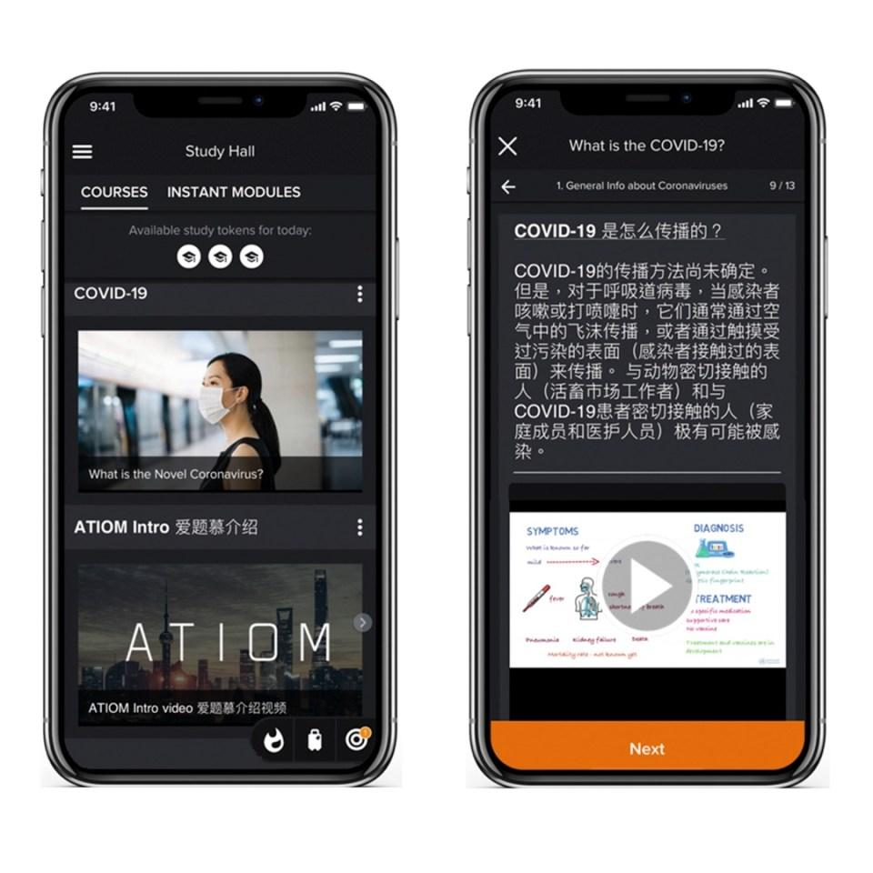 startups atiom