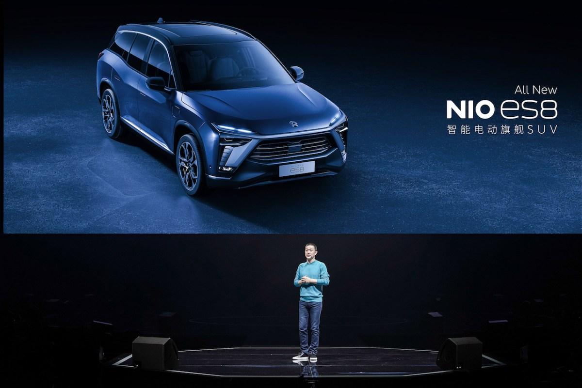 EV sales, NIO