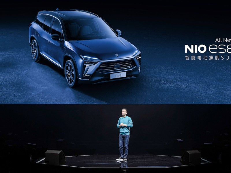 EV NIO Xpeng Tesla