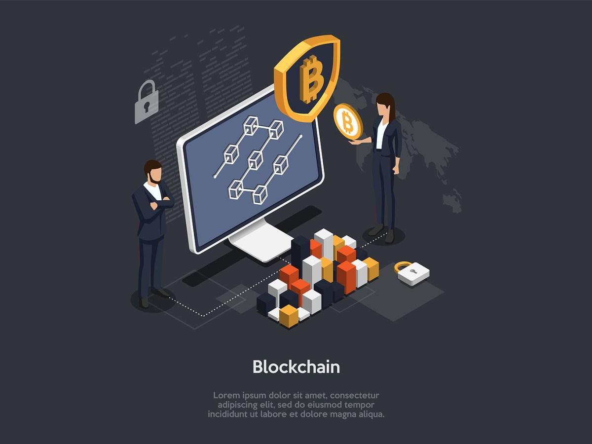 Blockchain Bitcoin Cloud Mining, Cryptocurrency, Blockchain
