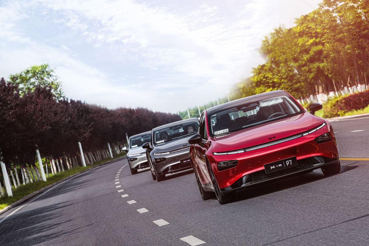 xpeng tesla china electric vehicles