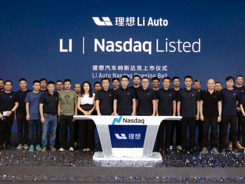 Li Auto IPO Nasdaq