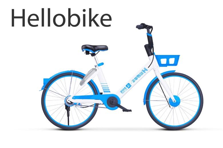 Hellobike bike rental