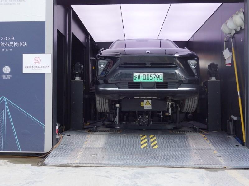 electric vehicles new energy vehicles nio tesla battery swap mobility china