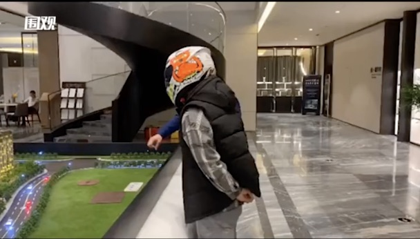 face recognition helmet man