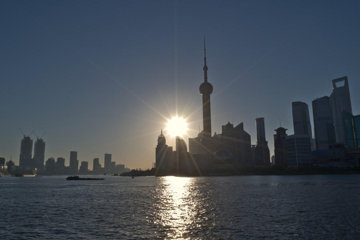 Sunrise over Pudong TechNode community New Year survey image