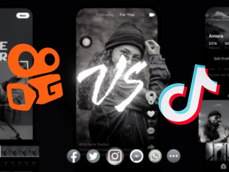 Kuaishou vs Tiktok feature image