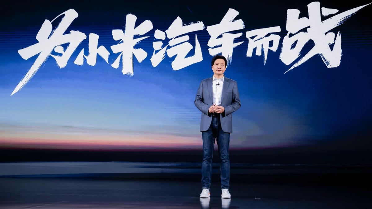 electric vehicles xiaomi baidu china self-driving smartphone huawei