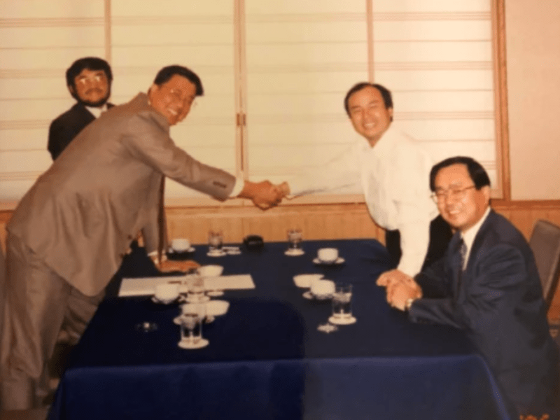 Hong Lu, co-founder of UT Starcom and Masa Son