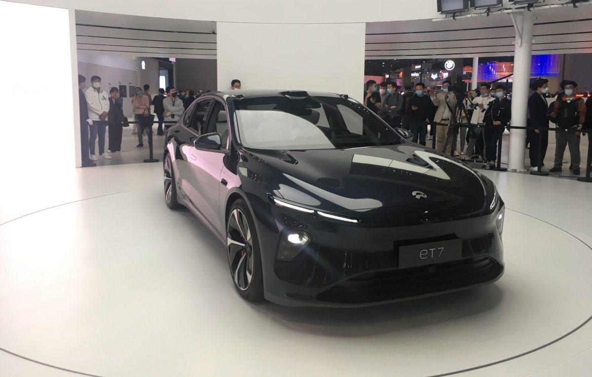 Nio new energy vehicles electric vehicles china tesla nio xpeng NEVs