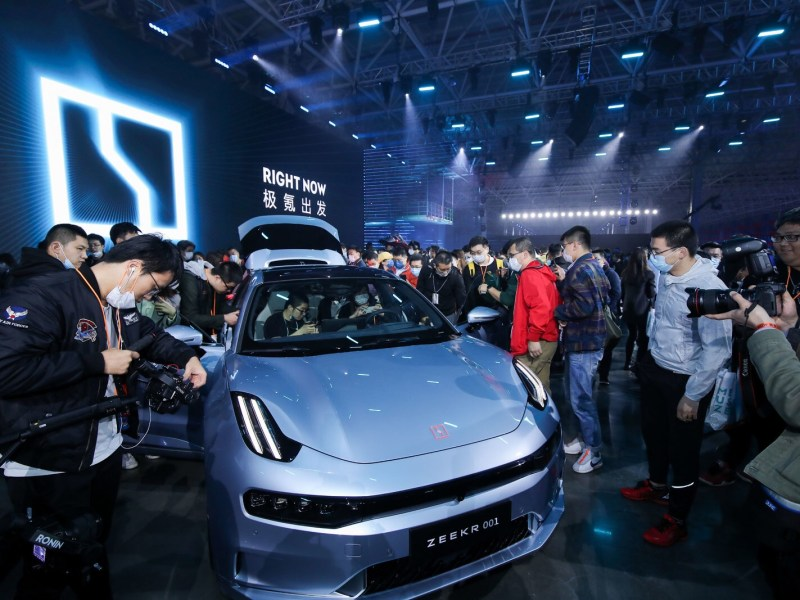 geely electric vehicles new energy vehicles zeekr tesla china nio EVs