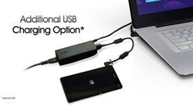 vaio flip additional usb charging