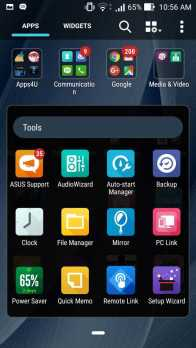 ASUS Zenfone 2 Deluxe Pre-installed apps list_2