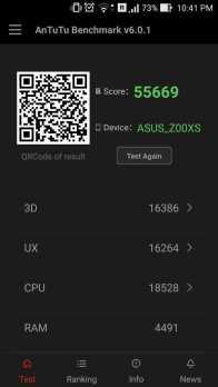 AnTuTu benchmark Normal Mode