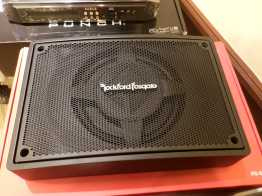 Rockford Fosgate PS-8 Subwoofer shallow