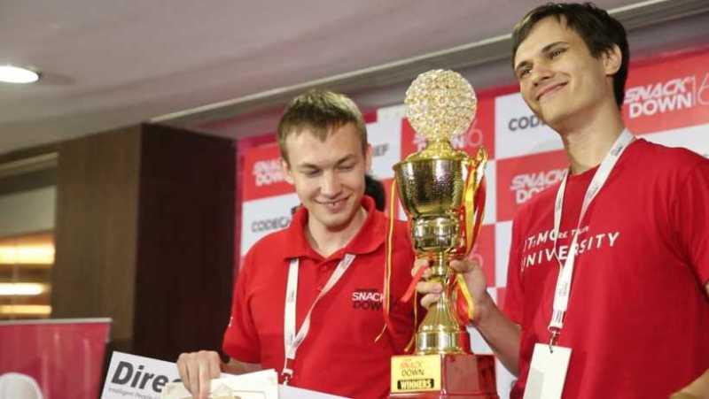 Global Winners-Borys Minaiev and Gennady Korotkevich