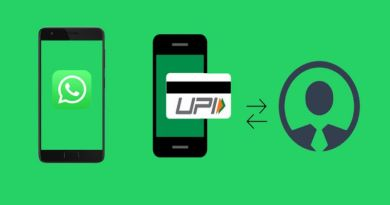 Get Whatsapp UPI payment feature