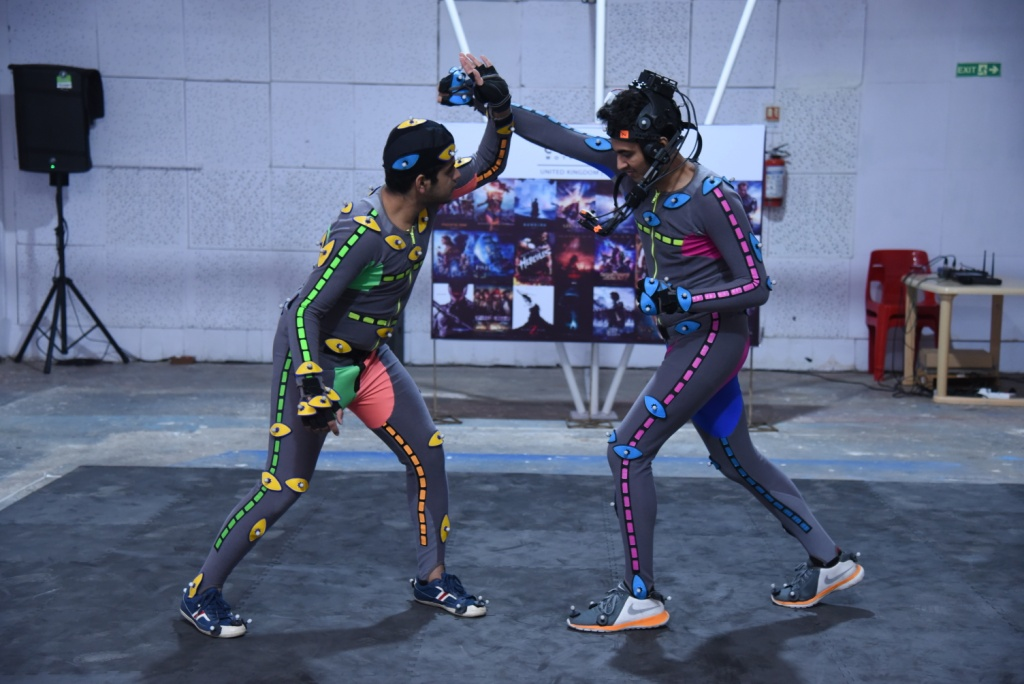 Famous Studio collaborates with Centroid for Motion capture