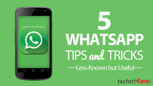 5 Less-Known but Useful Whatsapp Tips & Tricks