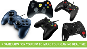 5 Gamepads for your PC to make your gaming Real Time
