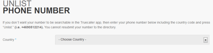 How to Remove your Number From True Caller.