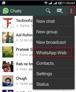 whatsapp web v