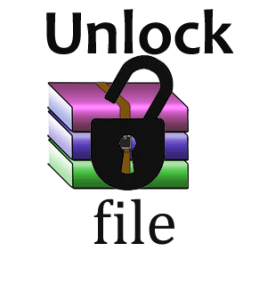 unlock rar file remove password