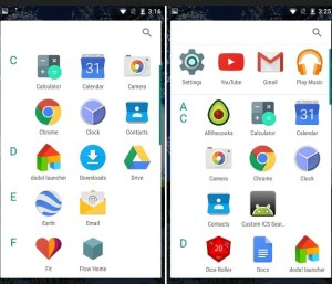 android m app drawer