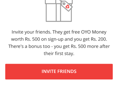 OYO Room Referral Code (RAJEUXVVN) and Hotel Coupon Code