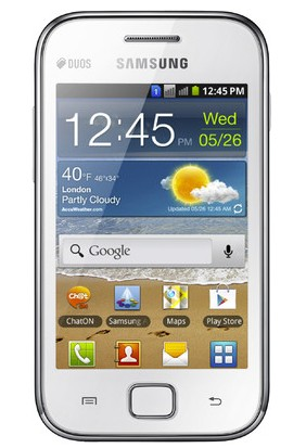 Samsung Galaxy Ace Duos cdma phone