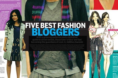 top 5 fashion bloggers in india