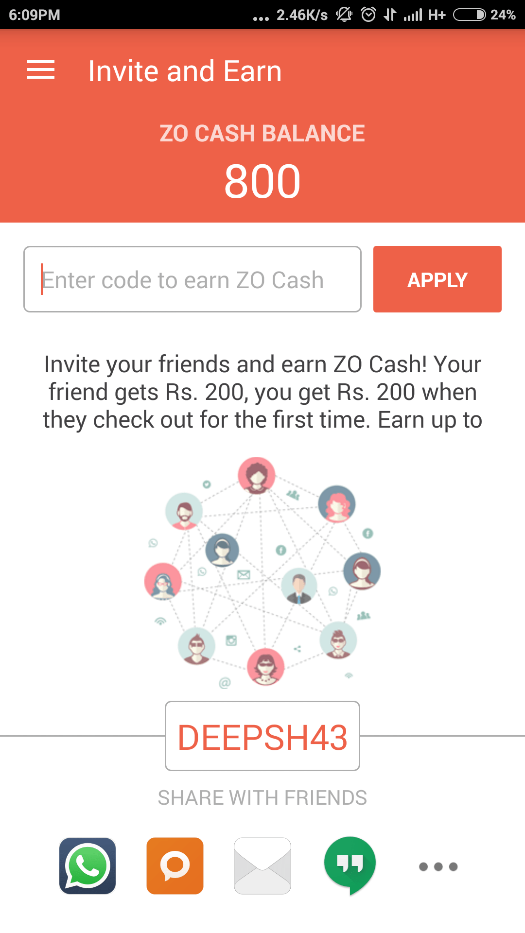 Roommates coupon code