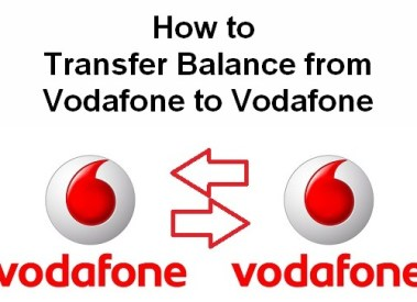 How to Transfer Balance from Vodafone to Vodafone Mobile-USSD Codes