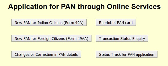 apply pan online