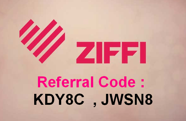 ziffi referral code