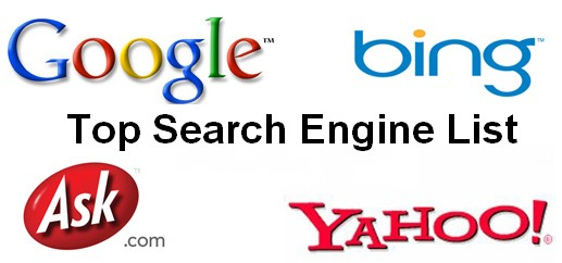 search engine list