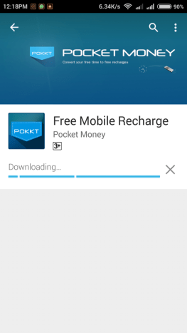 "Download the Pocket Money App. from here - "" Download Now """
