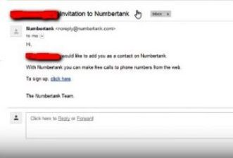 Get an Invite from Numbertank User or from here > Invite