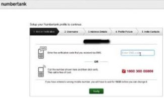 do the phone number verification & your personal details to create new account