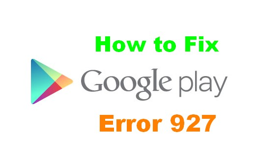 fix error 927