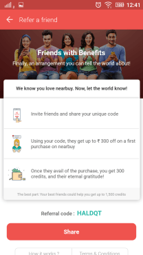 nearbuy referral code