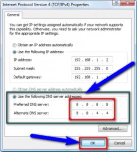 By DNS Server Addresses Option
