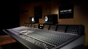 sound recording studio equipment hd wallpaper