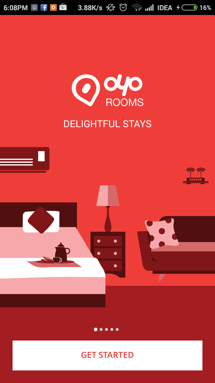 Latest Oyo Rooms Offers & Coupons